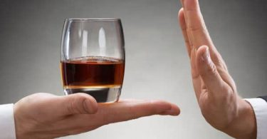 Mincir en supprimant alcool